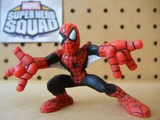 Marvel Super Hero Squad SPIDER-MAN Black / Red w Web Wings from Moon Knight Pack