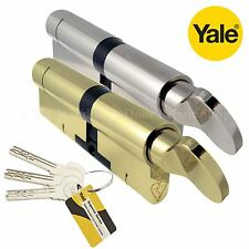 YALE Superior Thumb Turn Cylinder Lock Anti Snap Bump High uPVC Door Euro Barrel