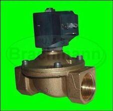 "VANNE magnétique 3/4 "" laiton 230V 0-4bar NC chauffage eau"