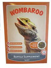 Wombaroo Reptile Supplement 250g Feed Wild Food Lizard Snake Turtle Frog dragon