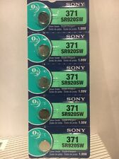 SONY 5 New Battery 371 370 SR920W SR920SW  Ships from USA EXP 2021