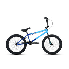 "2019 DK Aura 20"" BMX Bike Dark Blue & Light Blue Complete BMX Bicycle"
