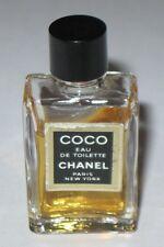 Vintage Mini Perfume Bottle Chanel Coco Eau De Toilette - 5 ML - Open - 2/3 Full