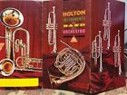 c1963~Holton Instruments for Band & Orchestra~Vintage Trade Catalog 128~w Prices
