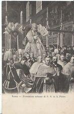 Religion Postcard - Roma - Processione Solonne de S.S. in S. Pietro   U1458