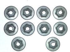 "GM 1/4""-20 Body Fender Door Quarter Trunk Trim Clip Moulding Molding Nuts 10pc G"