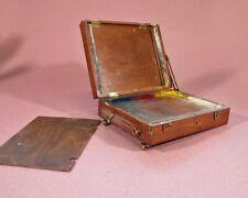 6x 8 portable artist easel, pochade, artist box, thumb box, for left hand