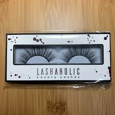 New listing Lashaholic Luxury Lashes Premium 100% Silk Flexible Band - Kiss Me - Nib