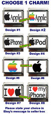 Apple, iPhone, iPod Custom Italian Charm, I love My iPhone, really cool, choose!