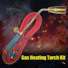 Propane Gas Flame Torch Welding Burning Weed Heating Tool Anti slip Handle FS