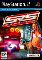 SRS: Street Racing Syndicate (PS2 Game) *VERY GOOD CONDITION*