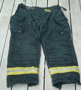 vtg. morning pride firefighters turn out pants sz 42x31 model bpr5410bp