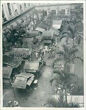 1945 World War II Shanties for Freed Internees Original News Service Photo