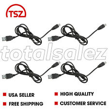 4 For Sony Playstation PS3 Wireless Controller Remote USB Charger Cable Cord