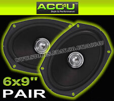 "Midbass DB69 High Performance 6x9 6""x9"" inch Car Rear Shelf Coaxial Speakers Set"
