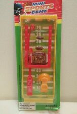 Mini Sports Game Football 8 x 3 inch Plastic Table Toy ages 5+ New 2012