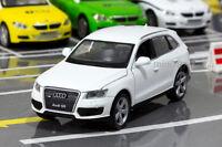 Model Cars Sound&Light Audi Q5 1:32 White Children's Gift Alloy Diecast Toys New