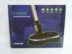 Gladwell 3 in 1 Cordless Rechargeable Electric Mop Floor Cleaner Scrubber Black