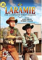 Laramie: The Complete First Season (Season 1) (6 Disc) DVD NEW