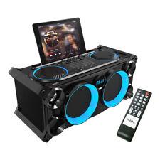 Ibiza SONIDO splbox - 200 Negro 200W Caja Acústica Discoteca DJ Mezclador de sistema de sonido bluetooth