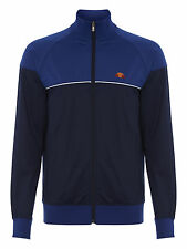 ellesse Men's Polyester Colegno Track Top - Navy//Mazerine Blue Sizes:S, M, & L