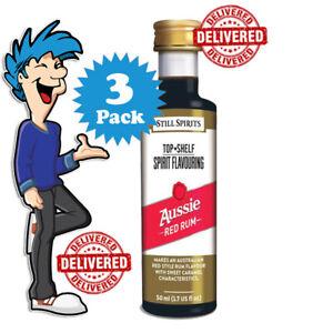 Aussie Red Rum Spirit Essence x 3 @ $33.99 By Still Spirits Top Shelf