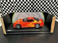 Racing Champions 1994 Mazda RX-7 - 2 Fast 2 Furious - Orange - 1:18 Boxed