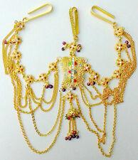 Indian Belly Dance Jewelry Wedding Bridal Enamel Kamar Waist Band Chain 1pc #153
