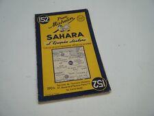 Carte MICHELIN n° 152 - SAHARA - L'épopée Leclerc - 1954/1955 -