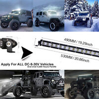 "21""Inch 540W LED Work Light Bar Spot Beam Offroad Driving Lamp Lights Car Truck"