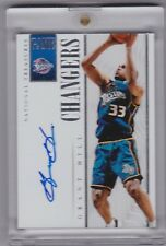 Grant Hill 2013-14 National Treasures Game Changers Auto 2/60 GC-GH Suns Pistons