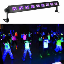 27w LED UV Black Light Bar 9x3W Super Bright Home DJ Party Club Home Decoration