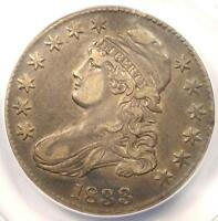 1833 Capped Bust Half Dollar 50C O-102 - ANACS XF40 Details (EF40) - Rare Coin
