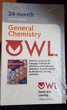 OWL (24 months) Access Card for General Chemistry by Masterton, Hurley, and Neth