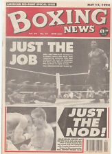Vintage Boxing News  May 94, Julio Cesar Chavez Regains world title from Randall