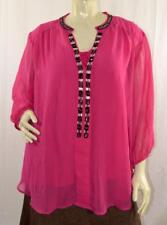 AVENUE WOMEN LOVELY 2 piece TOP BLOUSE Sz 26/28. New without tags #P431