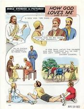 Bible Stories in Pictures #11 Part 2    July 27 1952     How God Loves Me