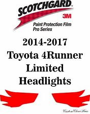 3M Scotchgard Paint Protection Film Pro Serie 2014 - 2017 Toyota 4Runner Limited