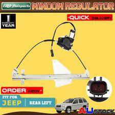 For Jeep Grand Cherokee WG WJ 2001-2004 Rear Left Window Regalator W/Motor