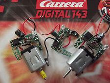Carrera Decoder Digital 143 Chip Platine / Motor zur Umrüstung Go auf D143 Auto