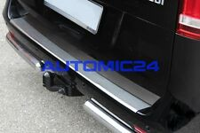 Ladekantenschutz Mercedes V-Klasse Edelstahl Kofferraum Leiste Stossstange