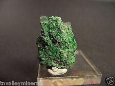 Uvarovite Green Garnet Cluster Specimen Flat Back #30_9