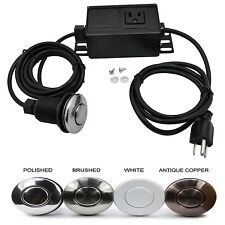 Garbage Disposal Part Built-Out Adapter Switch Set Sink Top Air Switch Kit Safe