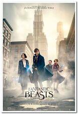"FANTASTIC BEASTS-2016 Orig ADV ""B"" Movie Poster 27x40- J.K ROWLING- Harry Potter"