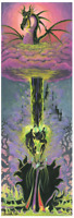 Disney Fine Art Limited Edition Canvas Maleficent's Transformation-St. Laurent
