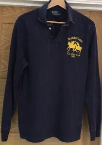Ralph lauren Mens Rugby Shirt Size medium