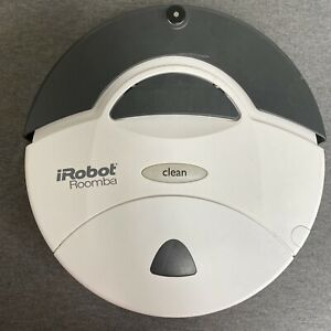 iRobot Roomba 400 Robotic Vacuum Cleaner White [No Charger or Battery]