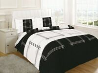 CAMPUS DUVET QUILT COVER WITH PILLOW CASES BEDDING SET