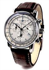 ZEPPELIN 100th anniversary commemoration model Chronograph quartz 7680-1  OA64 b d6089d5312