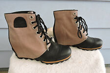 Women's Sorel 1964 Premium Lthr/Canvas Wtrpf  Wedge Anthropologie Ankle Boot 8.5